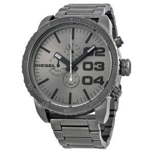 DIESEL Chronograph Gunmetal Ion-plated Men's Watch